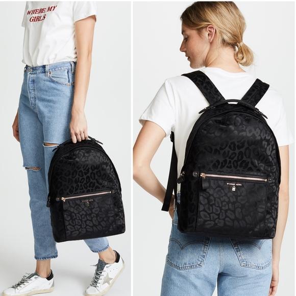b9a60924a6fd7d Michael Kors Bags | One Day Sale Kelsey Leopard Backpack | Poshmark